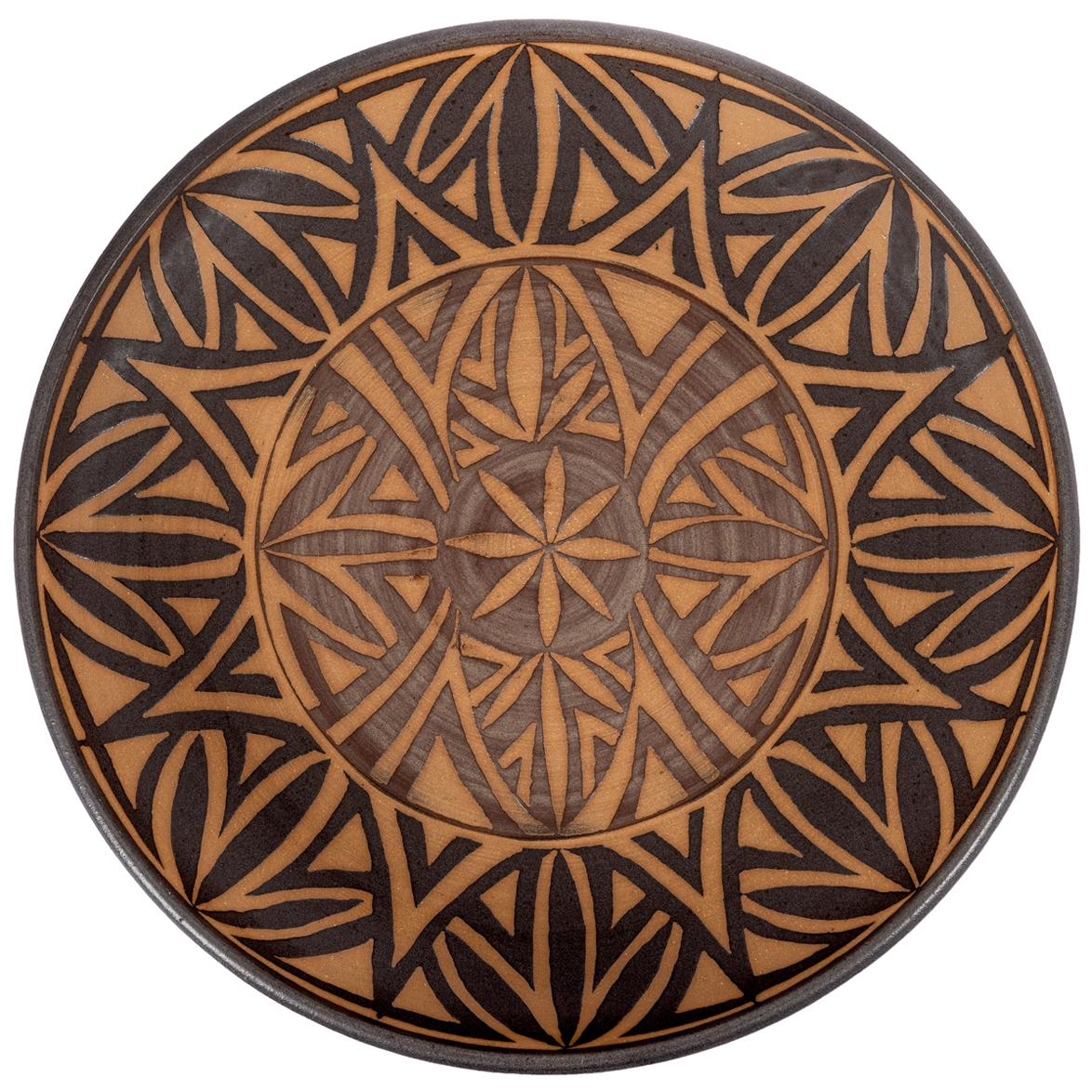 Clyde Burt Ceramic Platter