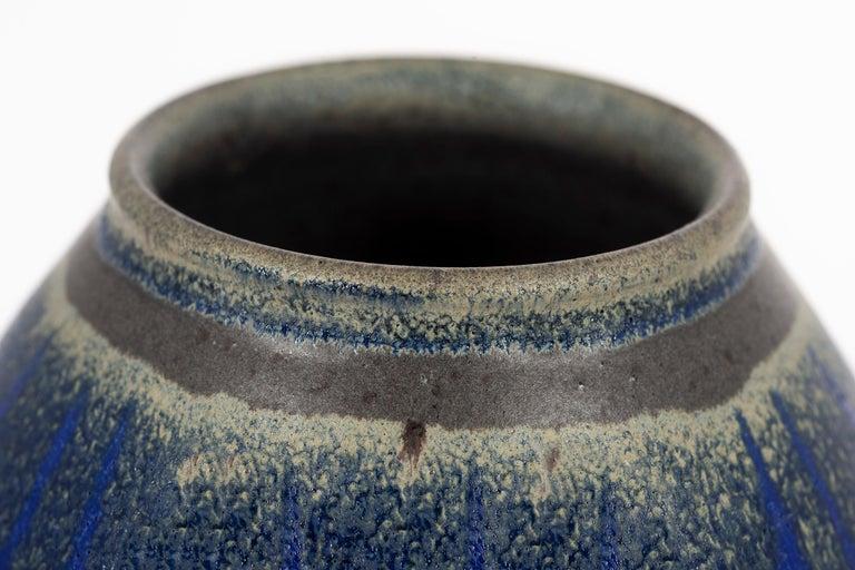 American Clyde Burt Ceramic Vase For Sale