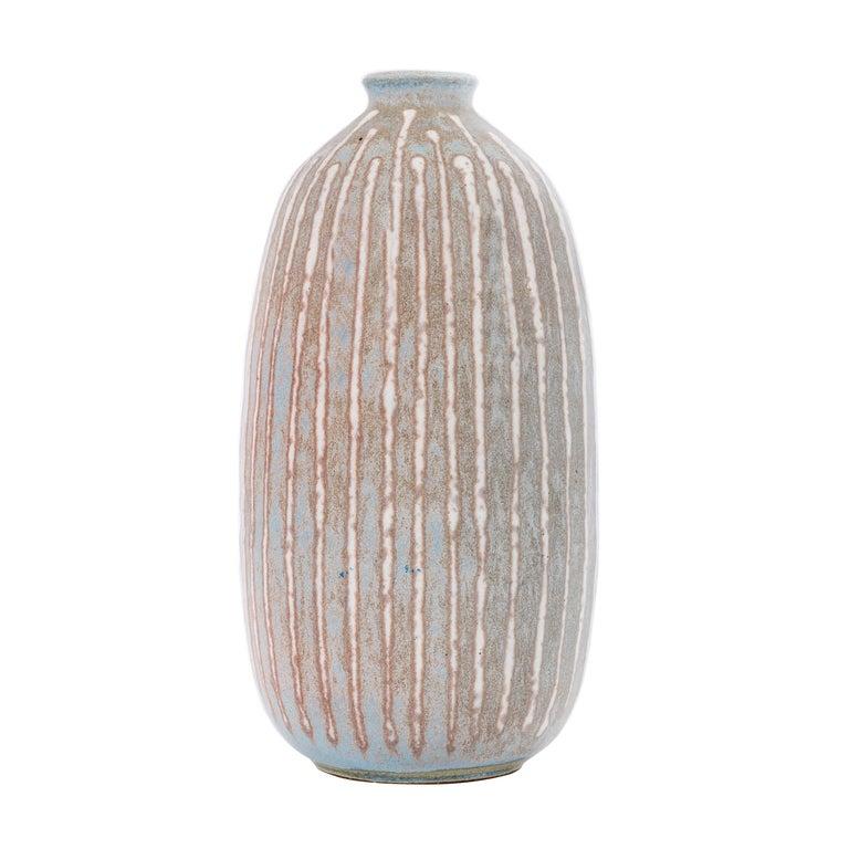 Clyde Burt Ceramic Vase For Sale