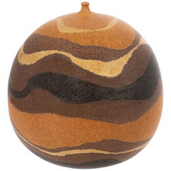 Clyde Burt Ceramic Vessel