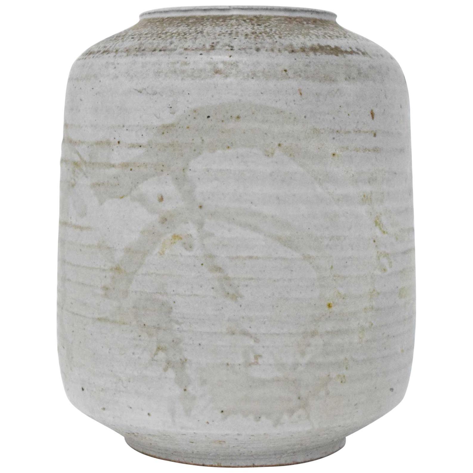 Clyde Burt Ceramic Vessel or Vase