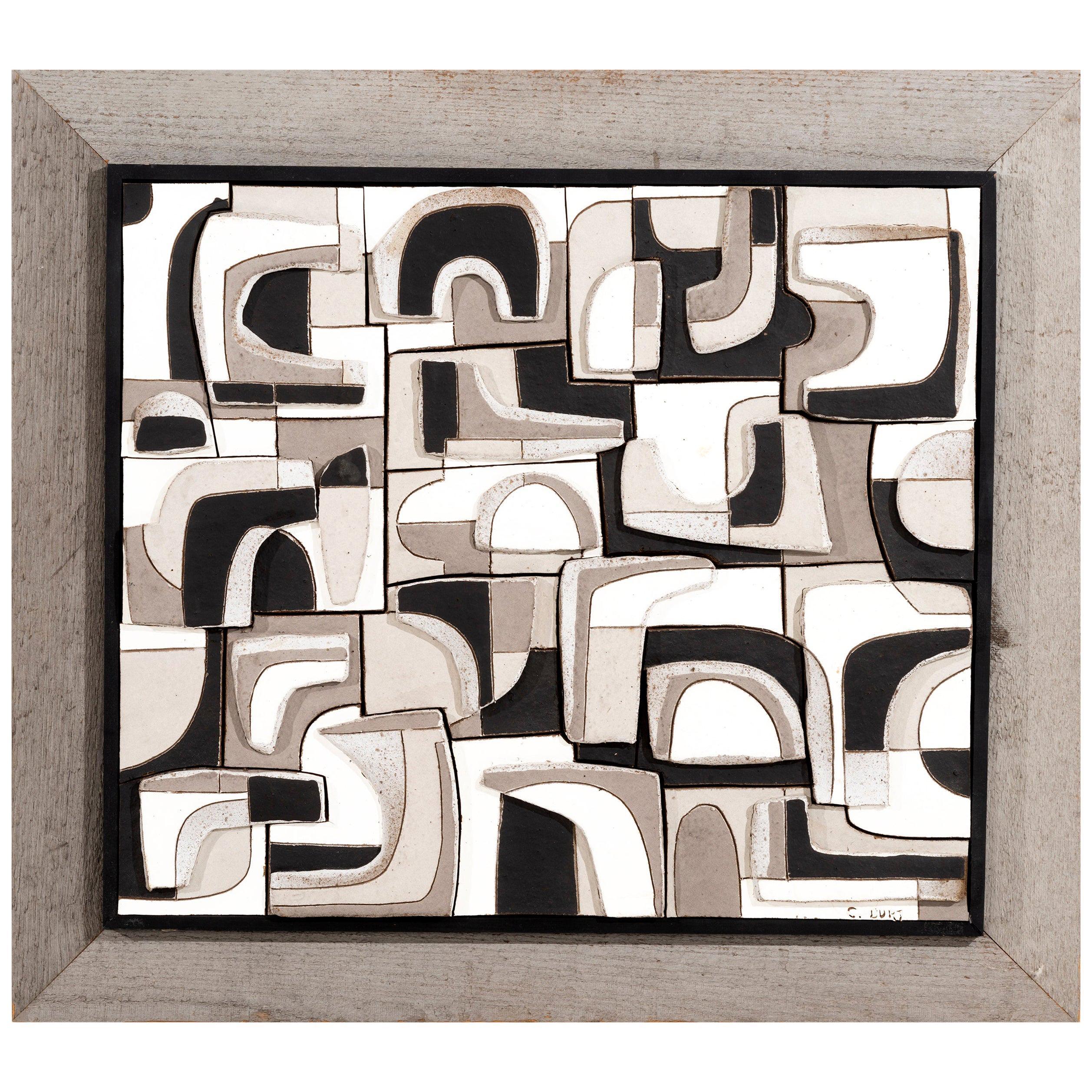 Clyde Burt Ceramic Wall Art