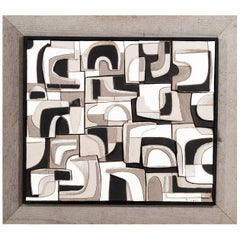 Clyde Burt Ceramic Wall Tile