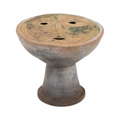 Clyde Burt Figural Ceramic Table