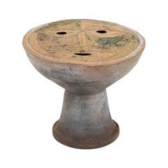 Clyde Burt Figural Ceramic Stool