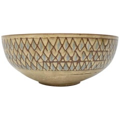 Clyde Burt Large Ceramic Bowl