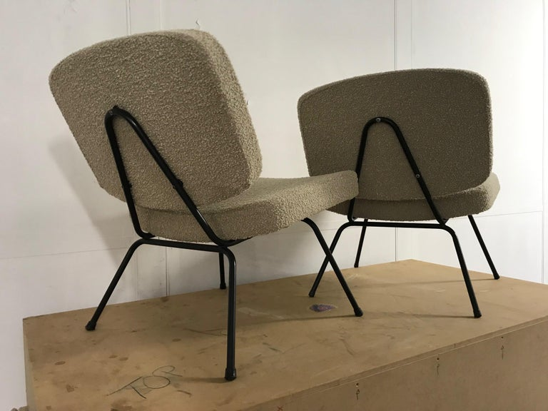 Mid-20th Century CM190 Slipper Chairs by Pierre Paulin For Sale