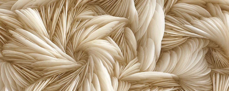 Rowan Mersh Turns Seashells Into Dreamlike Sculptures at Gallery FUMI in London