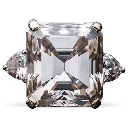 16.77-Carat Fancy Light Brown Diamond Ring, 2000