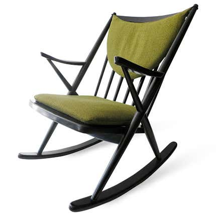 Frank Reenskaug Rocking Chair, ca. 1960s