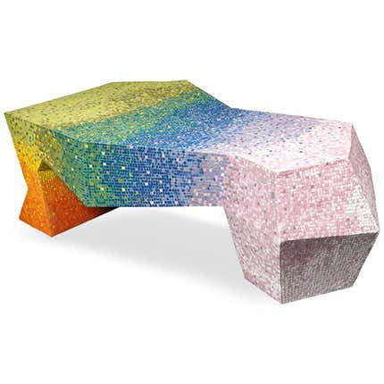 Mattia Bonetti Iris Coffee Table, 2011