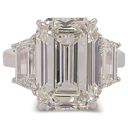 8 Carat Diamond Engagement Ring, 2019