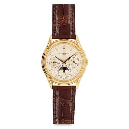 Patek Philippe Perpetual Calendar Watch, 1990