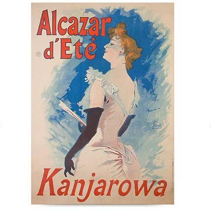 Jules Chéret Poster, 1891