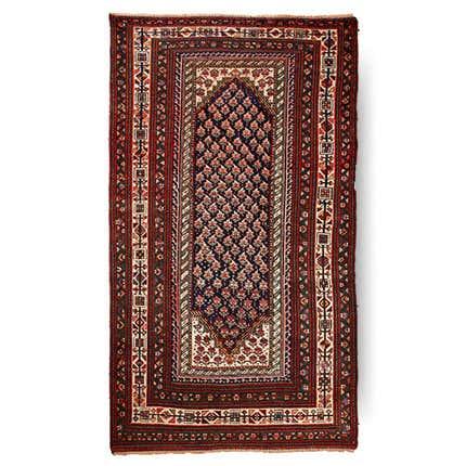 Antique Senneh Carpet, 1900
