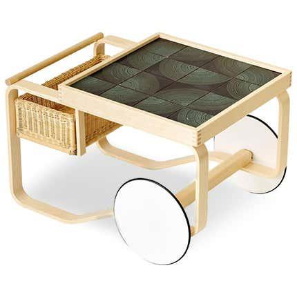 Alvar Aalto Tea Trolley, 21st Century