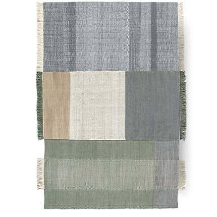 Nani Marquina Hand-Loomed Wool & Felt Rug, 2017
