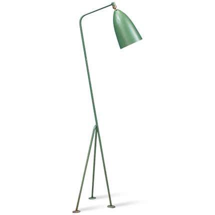 Greta M. Grossman Grasshopper Floor Lamp, 1940s