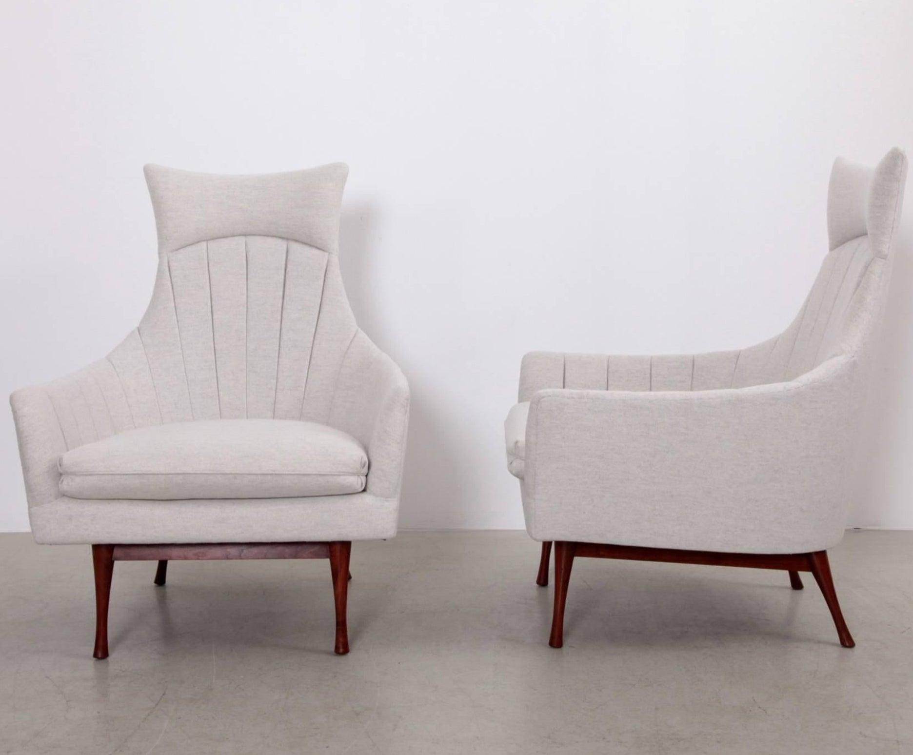 Symmetric Group Lounge Chair