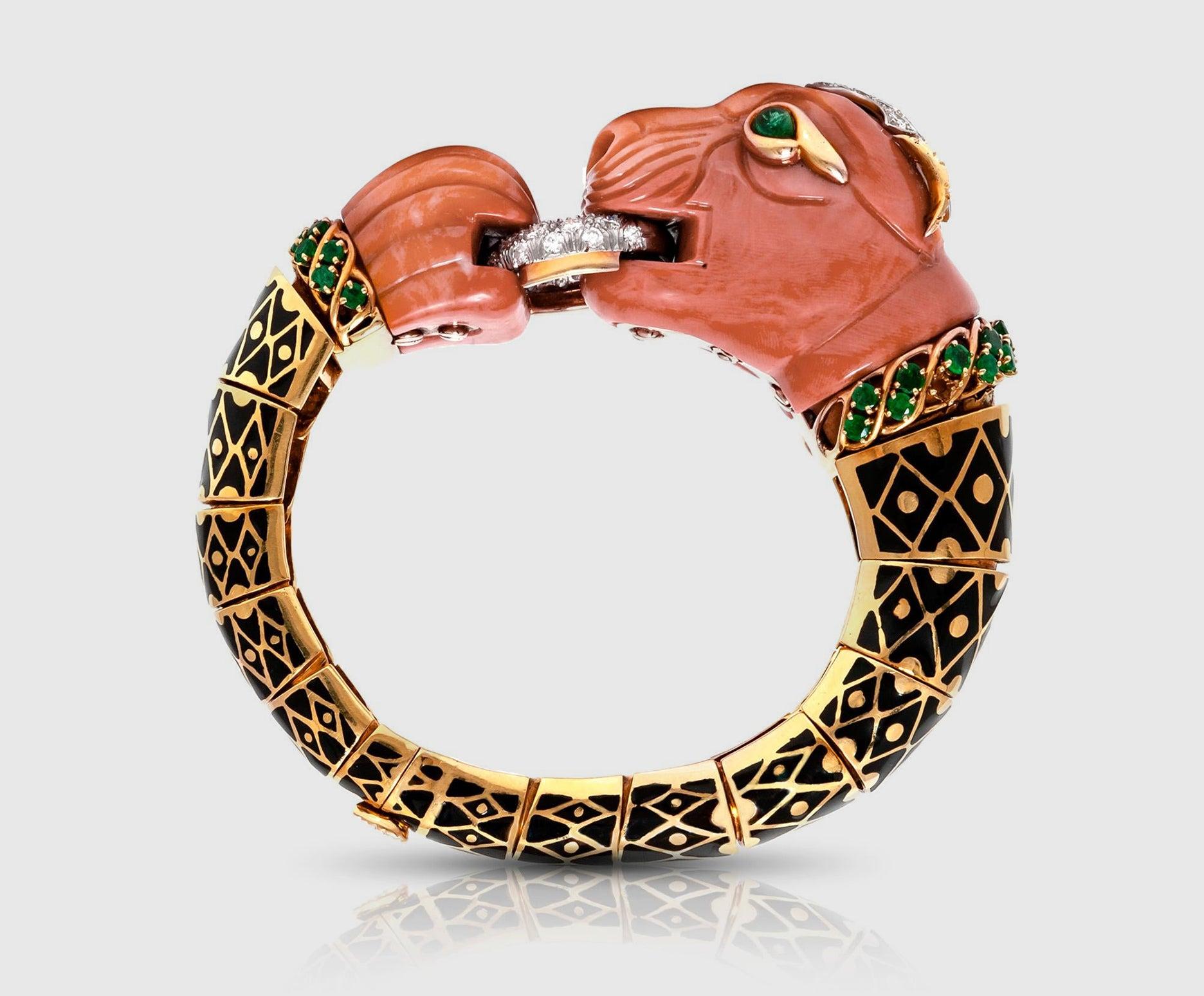 Curly Lion Bracelet