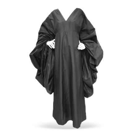 Madame Grès Heavenly Bodies Silk Dress, 1960s