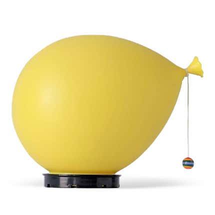 Yves Christin Wall or Ceiling Balloon Lamp, 1975