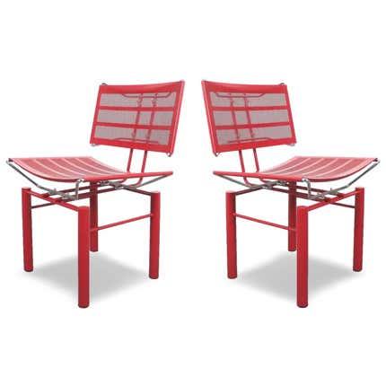 Hans Ullrich Bitsch Chairs Series 8600, ca. 1980