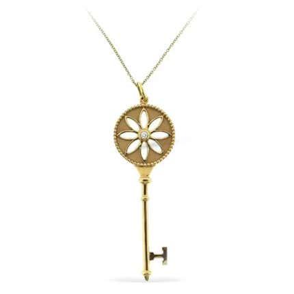 Tiffany & Co. Daisy Key Necklace, 21st Century