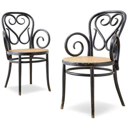 Michael Thonet Bentwood Armchairs, 19th Century