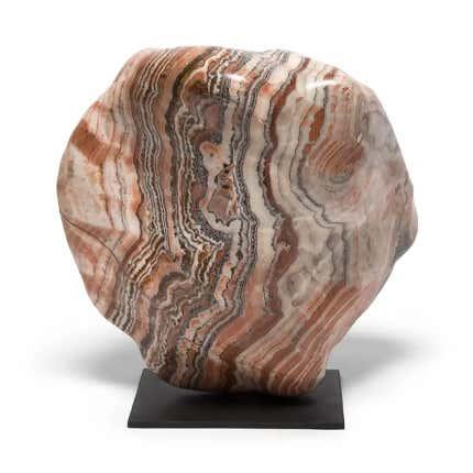 Nan Yang Meditation Stone Sculpture, 21st Century