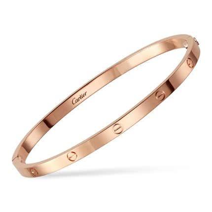 Cartier Love Bracelet, 2017