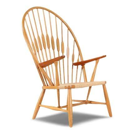 Hans J. Wegner JH-550 Peacock Chair, 1940s
