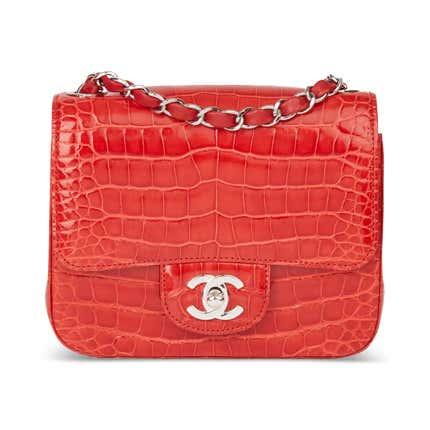 Chanel Alligator Mini Flap Bag, 2011