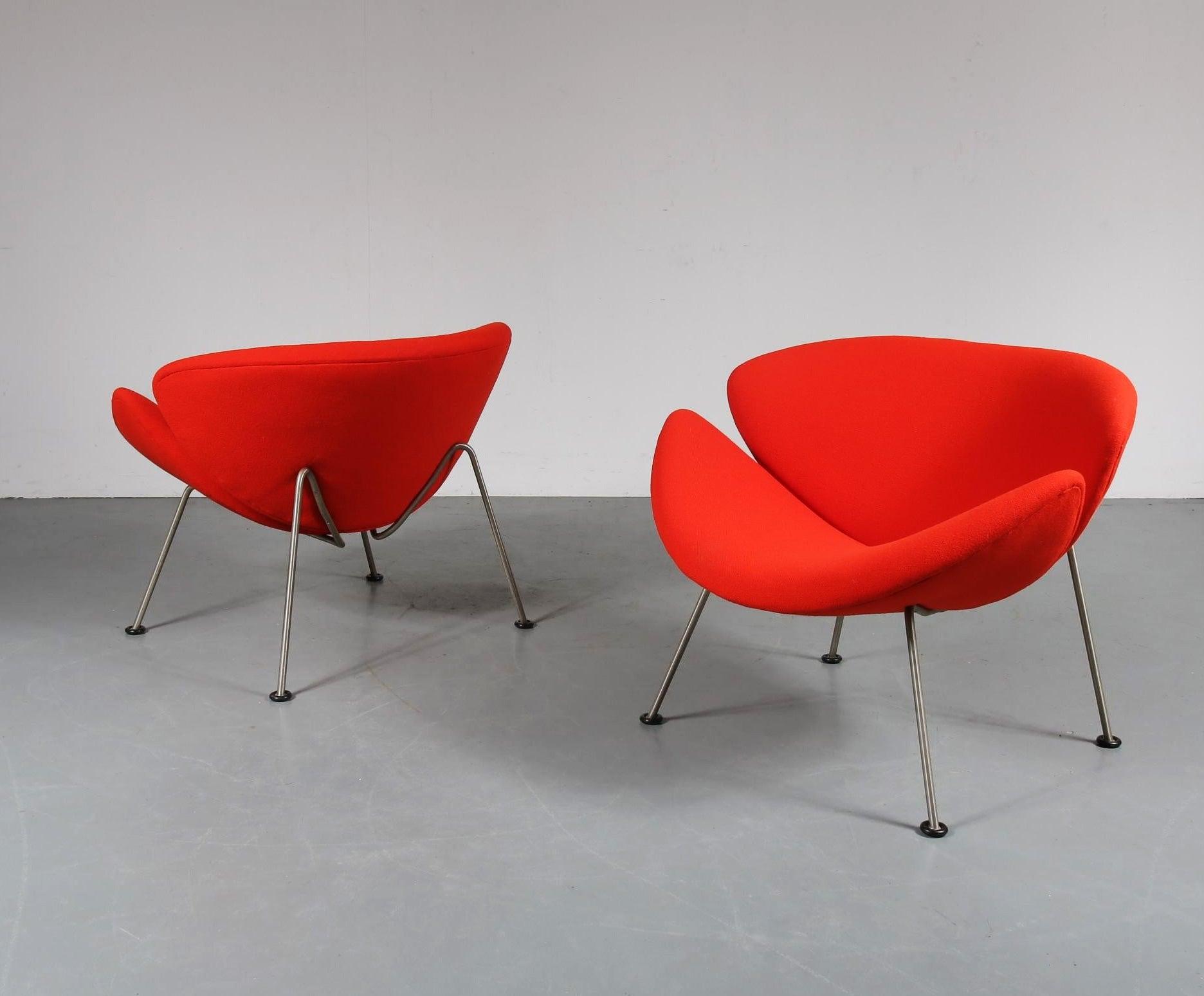 Orange Slice Chair