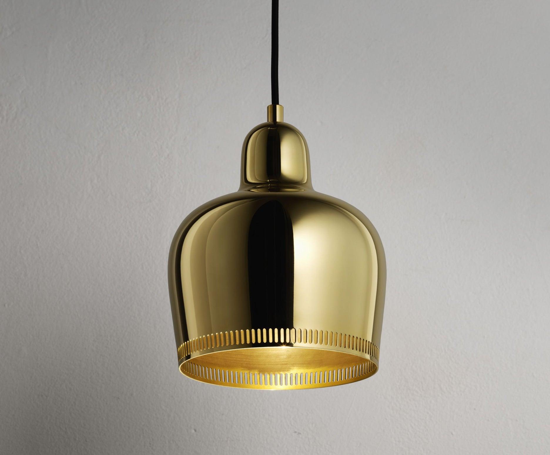 Golden Bell Pendant Light