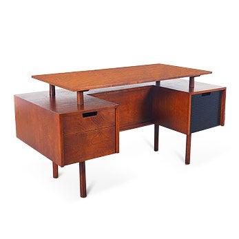 Milo Baughman Desk, 1950s