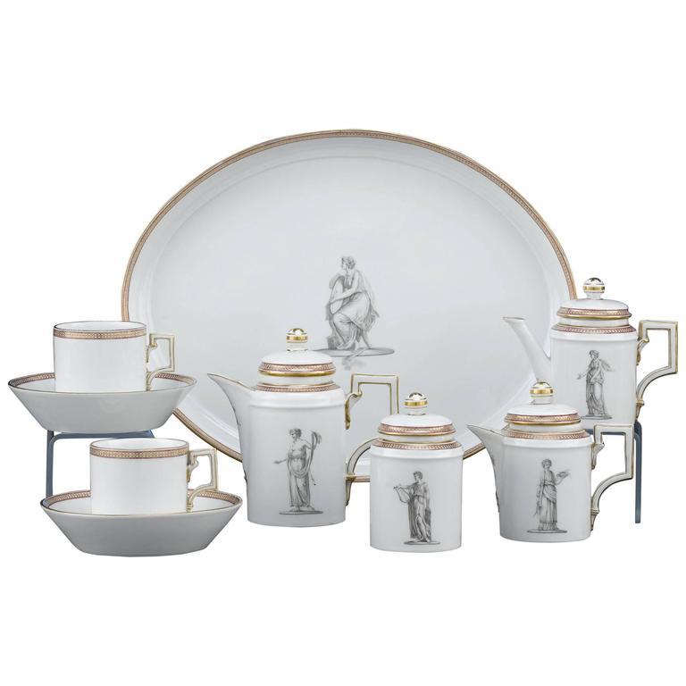 KPM Porcelain (Germany 1763-)  sc 1 st  1stDibs & KPM Porcelain Furniture: Dinnerware Wall Art u0026 More - 75 For Sale ...
