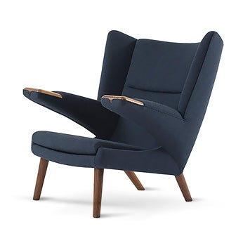 1790 hans j wegner new papa bear chair 19681969