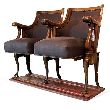 Antique Theater Seats, 1890s