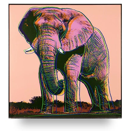 Andy Warhol, African Elephant, 1983