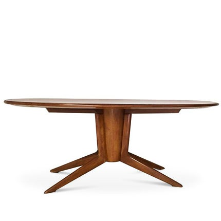 Ico and Luisa Parisi Mahogany Dining Table, 1940s