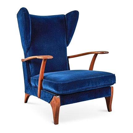Guglielmo Ulrich Adjustable Armchair, 1940s