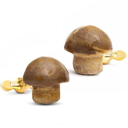 Michael Kanners Realistic Mushroom Cufflinks, 2017