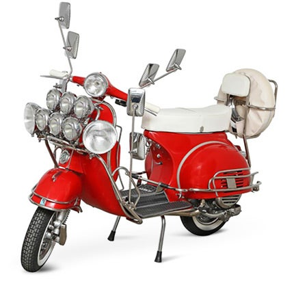 Fully Restored Vespa, 1964