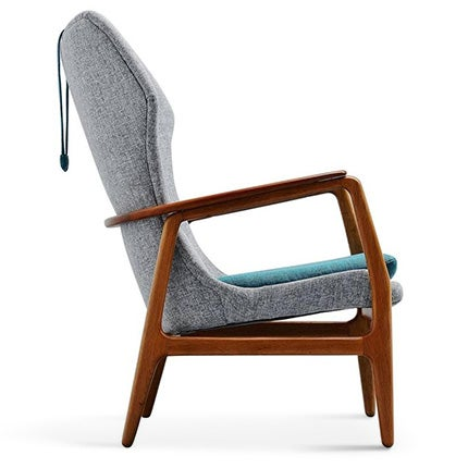 Aksel Bender Madsen Wingback Chair, 1960