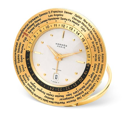 Hermès World Time Clock, 1950s