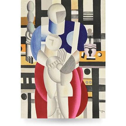 Fernand Léger, La Femme et l'enfant, 1921