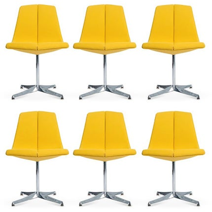 Richard Schultz Dining Chairs, 1960