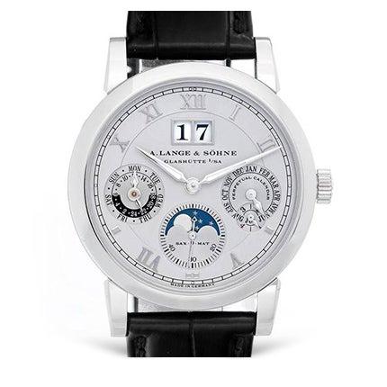 A. Lange & Sohne Platinum Wristwatch, 21st Century