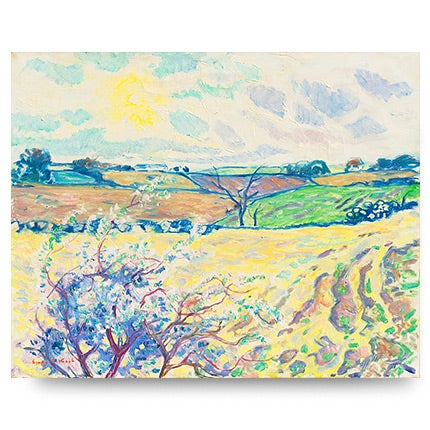 Ejnar R. Kragh, Spring Landscape, ca. 1945